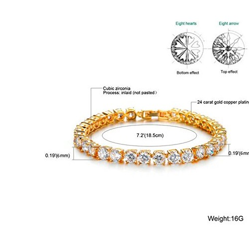 Ananth Jewels Set With Swarovski Zirconia Solitaire Pure Brilliance Luxury Collection Bracelet