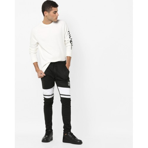 PROLINE Panelled Track Pants with Drawstring Fastening