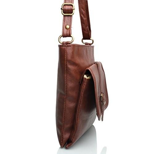 cd690b06fbc Buy Mammon Women's Sling Bag (Tan, Slg-Buckle) online | Looksgud.in