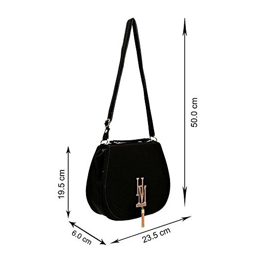 BFC-Buy For Change Stylish Elegant Multi Pocket Sling Side Bag Cross Body Purse with Adjustable Strap For Women And Girls