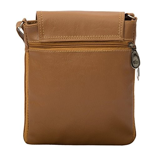 Flora Premium PU Leather Women's And Girl's Cross Body Sling Bag