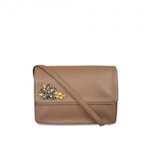 Toteteca Bag Works Brown (Pu) Sling Bag