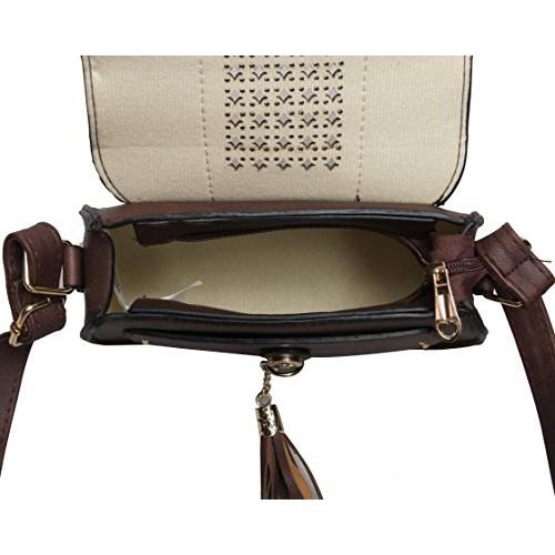 Boulgne Sling Women - Girl Bag | High Quality Material | adjustable Sling | Inner Pockets | Everyday Bag