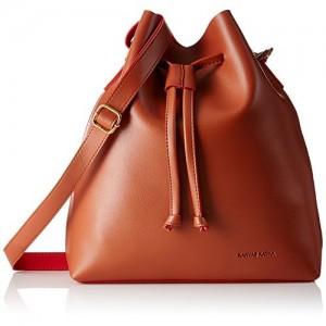 Kanvas Katha Women's Sling Bag (Tan) (KKKEN004)
