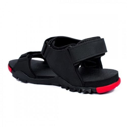 9d17213092d22 Buy Asian Italic-02 Black Stylish Sandal For Men online