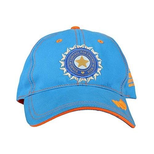 Buy ICC World Twenty20 India 2016 Blue Free Size Cotton Cap online ... f90312805bd6