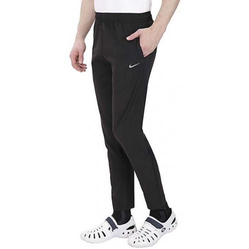 8f5da32eb9ba2 Buy Nike Black Polyester Lycra Track pants online   Looksgud.in