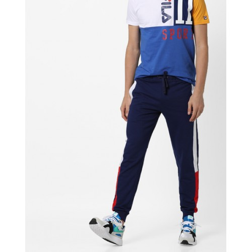91157748a43e4 Buy FILA Donald Slim Fit Joggers with Contrast Panels online ...