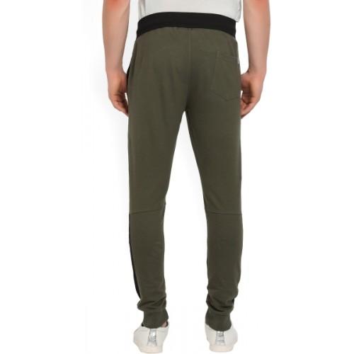 5609390000ee Buy Converse Solid Men s Green Track Pants online