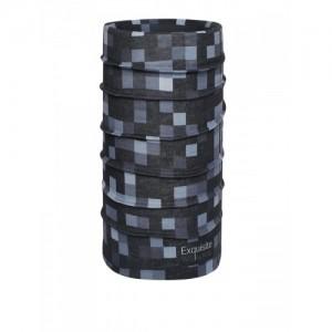 NOISE Unisex Black & Grey Printed Headband