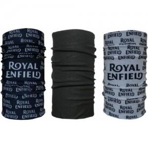Royal Enfield Men's & Women's Printed, Solid, Printed Bandana