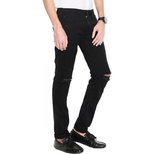 Ansh Fashion Wear Regular Men's Black Jeans