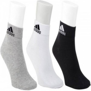 ADIDAS Men & Women Solid Glean Length Socks