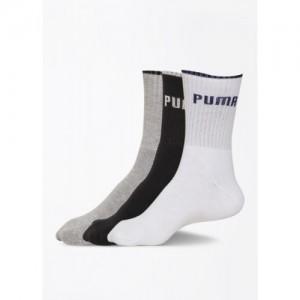 Puma Men's Solid Crew Length Socks