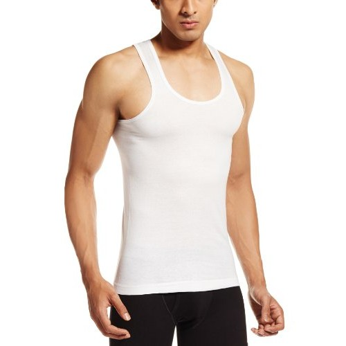 VIP Men's Cotton Vests (Pack of 3)