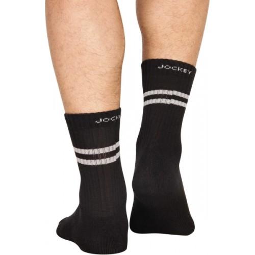 Jockey Men's Solid Mid-calf Length Socks