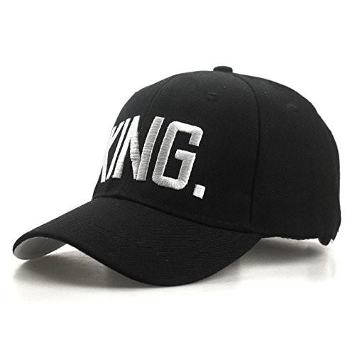 7ca5852bec7 ... DALUCI King Queen Baseball Caps Adjustable Couple Hip Hop Cap For Men  Women ...