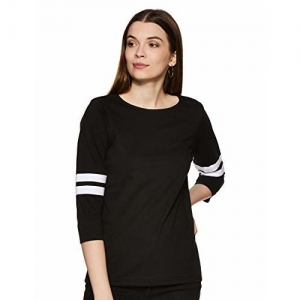 21162fe598d Buy INFLUENCE Knot-Front Ribbed Crop Top online | Looksgud.in