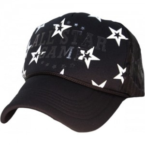 86b06863a98 Friendskart Printed Printed All Star Game Black Colour Half Net Cap In  Baseball Style For Boys