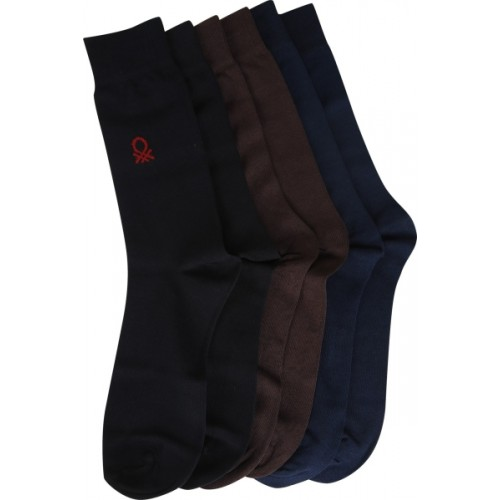 United Colors of Benetton Men Quarter Length Socks