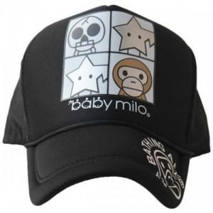 e1e57bc3108 Friendskart Printed Printed Baby Milo Printed In Black Colour Half Net Cap