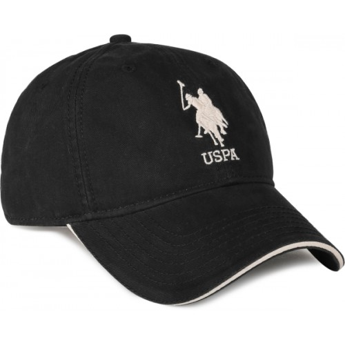098a57afe5e Buy U.S. Polo Assn Solid Embroidered Cotton Baseball Cap Cap ...