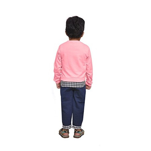 Kids Party & Casual Wear Bow Style T-Shirt & Jeans Pants for Boys