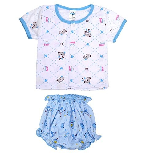 36f6d5397218 Buy Goodstart Multicolored Cotton Baby tops with bottoms - Set of 2 ...
