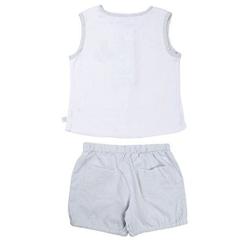 ShopperTree Cotton Solid Top & Bottom Set for Boy's