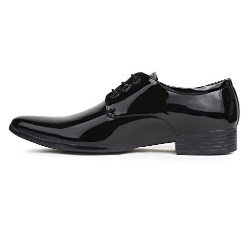 Buwch Men Formal Black Patent Leather Shoe