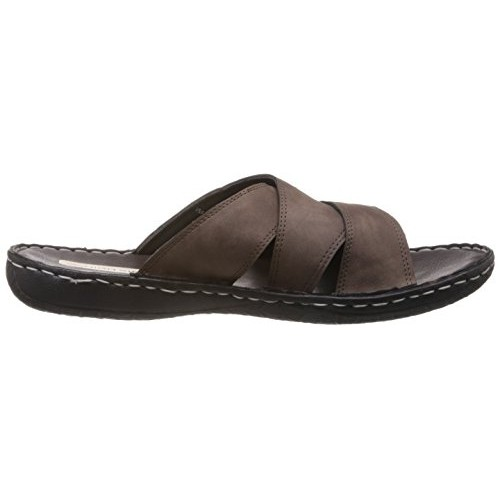 2690201dc469f Buy High Sierra Men's Brown Leather Sandals and Floaters - 6 UK ...