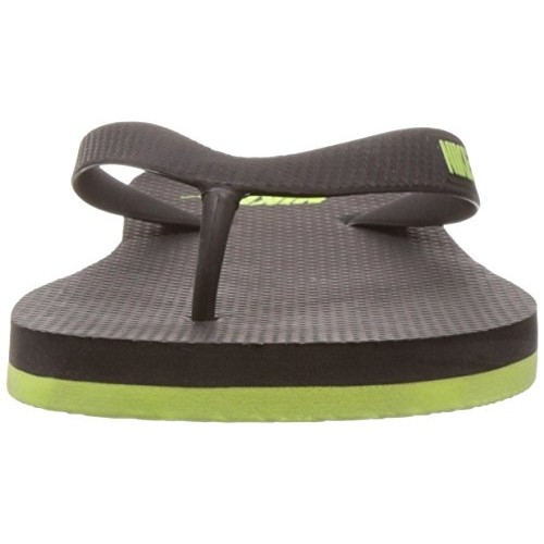 save off 42290 ab236 Buy Nike Men's Aquaswift Thong Black and Volt Rubber Flip ...