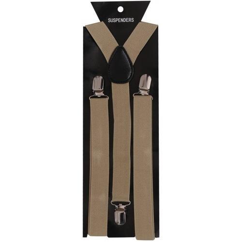 Tiekart Y- Back Suspenders for Men