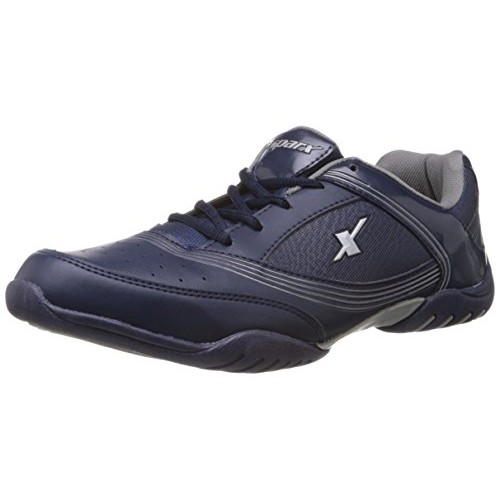 Buy Sparx Men's Navy Blue and White Running Shoes