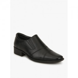 Hush Puppies Black Formal Slip-On Men Shoes