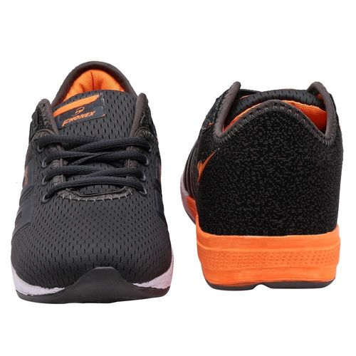 Fhonex Men's Grey Lace-up Running Shoes