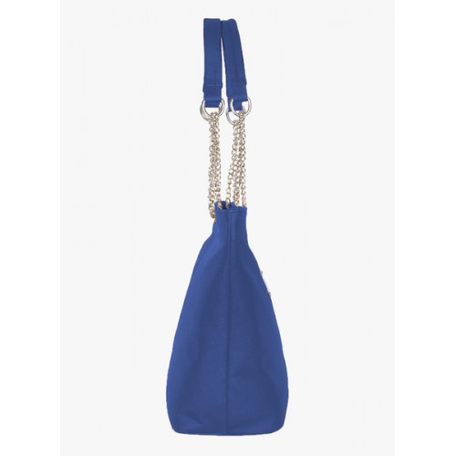 ADISA Blue Pu Handbag
