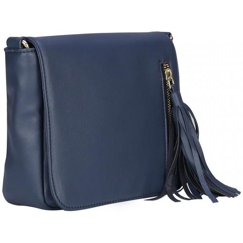 e2818928b150 Buy Old Tree Blue Plain Sling Bag online