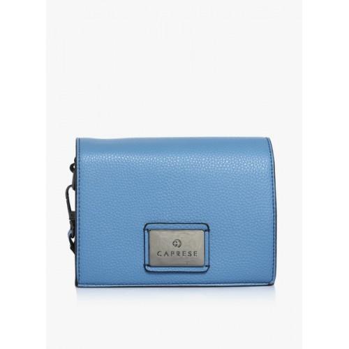 Caprese Cuba Blue Medium Sling Bag