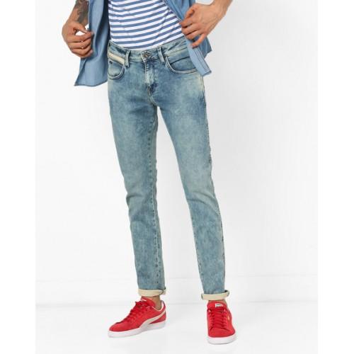 WRANGLER Stone Washed Dexter Skinny Jeans