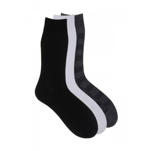 234d6852ef6 Buy Alvaro Castagnino Men Pack of 3 Checked Above Ankle-Length Socks ...