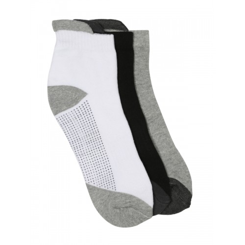HRX Men Pack of 3 Ankle-Length Socks
