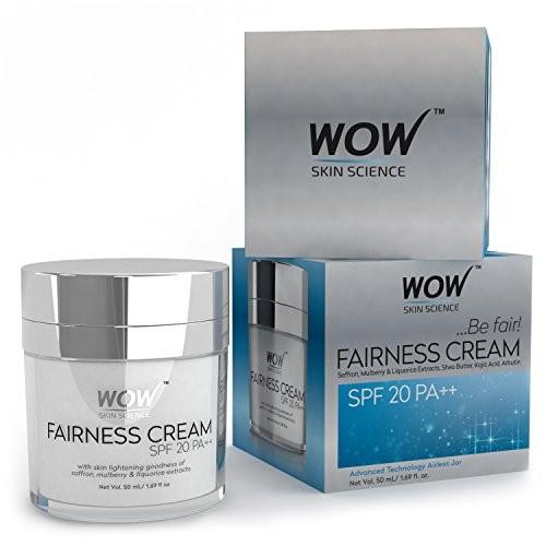 Wow Fairness Cream SPF 20 PA++, 50ml