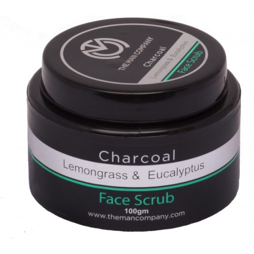 The Man Company Charcoal Face Scrub 100 g