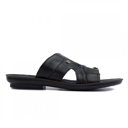ee788f16401d Buy Asian Black 3302 Synthetic Leather Slippers online