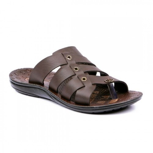 c5f3e9140 Buy Asian Brown 2900 Synthetic Leather Slippers online