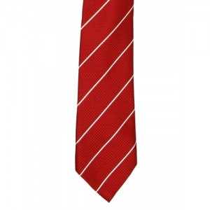Tossido Red Striped Tie