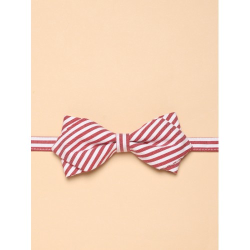 7ecf05a824ee Buy Mr Bowerbird Red & White Striped Bow Tie online | Looksgud.in