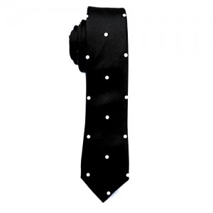 Blacksmith Blue Polka Dot Tie for Men - Navy Blue Tie for Men - Blue Formal Tie For Men - Blue Tie for Men