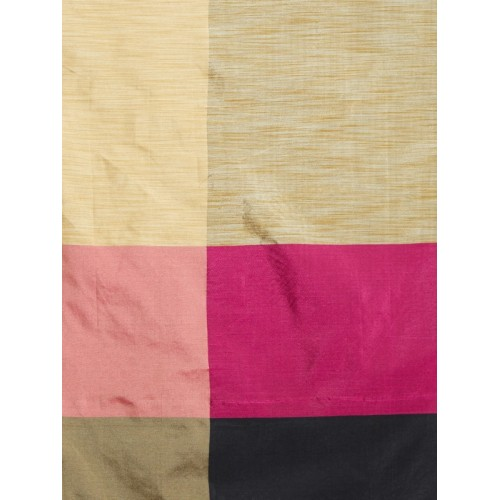 Aksh Fashion Woven Banarasi Cotton Silk Saree